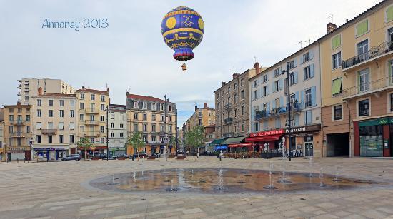 Hôtel du Midi : Place des Cordeliers