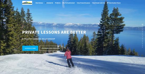 Squaw Valley, Kalifornien: All Tahoe Resort Discount Private Ski & Snowboard Lessons & Guided Snowshoe Tours