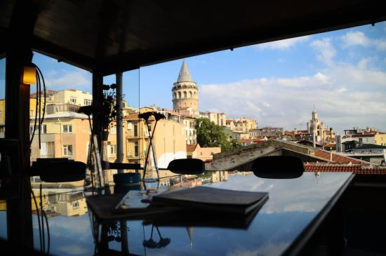 Galata West Hostel : The view from our terrace