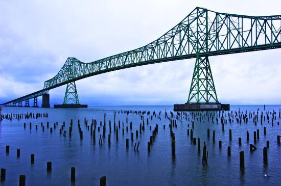 Warrenton, Oregón: Megler Bridge
