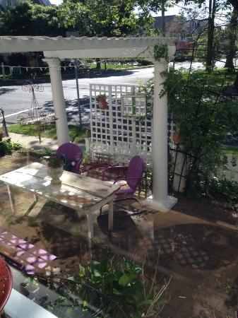 Manasquan, NJ: View of the Garden Pergola