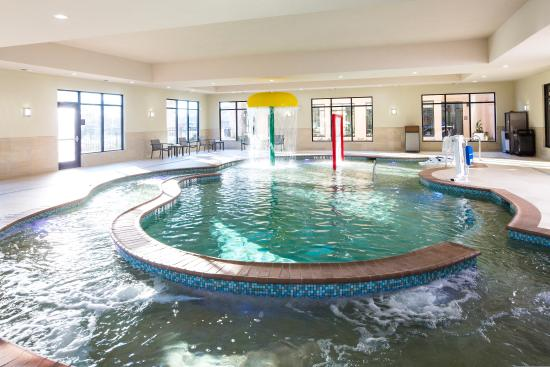 Hilton Garden Inn Longview Indoor Lazy River Pool
