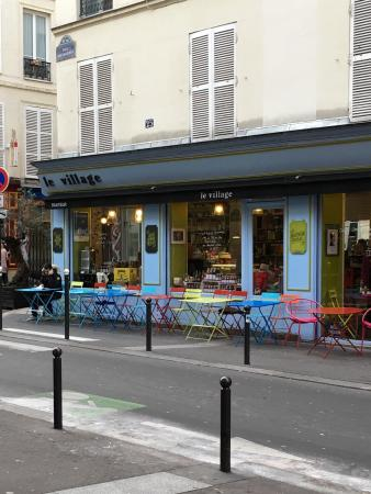 Photo of Mediterranean Restaurant Le Village Epicerie Fine at 25 Rue Bouchardon, Paris 75010, France