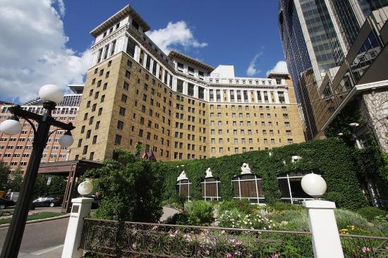 Garden Picture Of The Saint Paul Hotel Saint Paul Tripadvisor