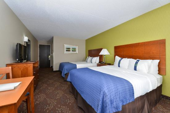Matteson, Ιλινόις: Double Bed Guest Room