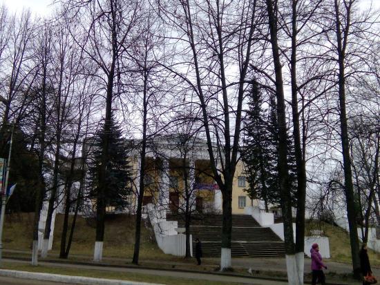 Borovichi, Rusia: Вид с дороги