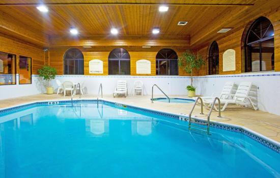 Oswego, IL: Don't forget to take a dip in our indoor Swimming Pool!