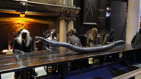 Leavesden, UK: Nagini