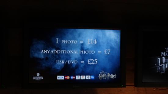 Leavesden, UK: Photo prices