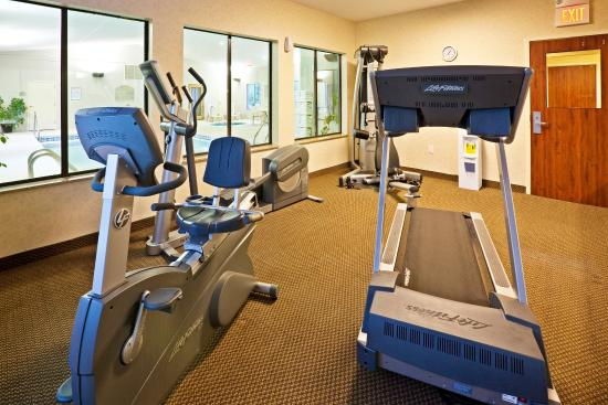 Muskogee, OK: Get your workout in for the day in our spacious fitness center.