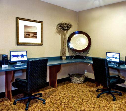 Holiday Inn Express Hotel & Suites Lake Placid: Business Center