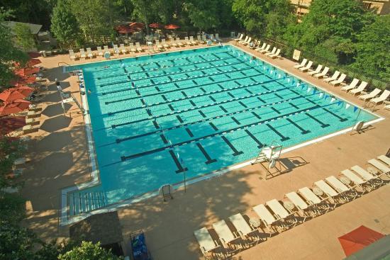 The Houstonian: Pool