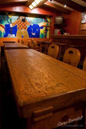 Timberline Lodge, Όρεγκον: The Blue Ox Bar