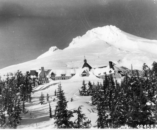 Timberline Lodge, OR: Historic