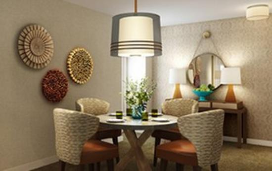 Leesburg, VA: Deluxe Suite Dining