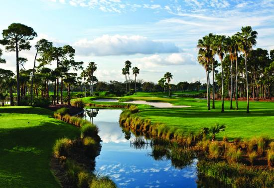 PGA National Resort & Spa: Hole Green Lake