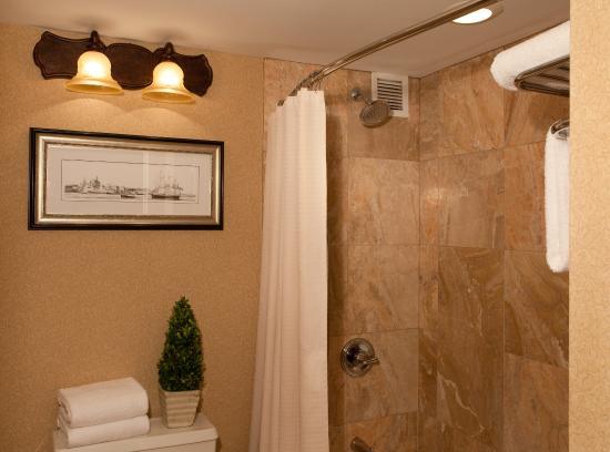 Rockport, ME: Suite Shower Area