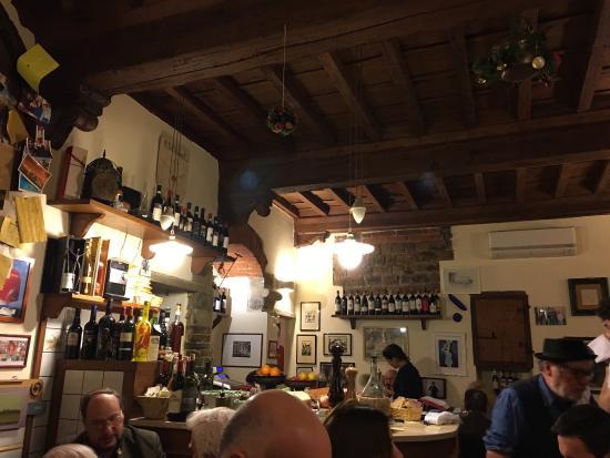 Vini e Vecchi Sapori: Ambians ve yemekler muhteşem