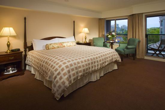 Hotel Grand Pacific: King Guest Room