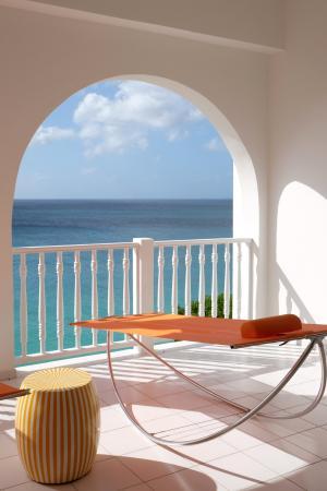 West End Village, Anguila: Guestroom Terrace