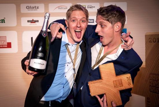 Stansstad, สวิตเซอร์แลนด์: Die beiden Wirten des Rio mit dem Best of Swiss Gastro Award 2016