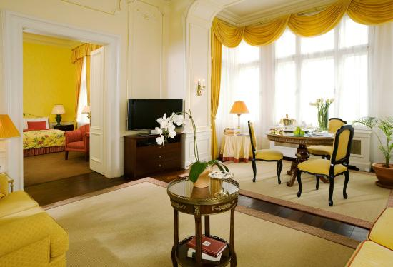 Le Palais Art Hotel Prague: Bellevue Suite