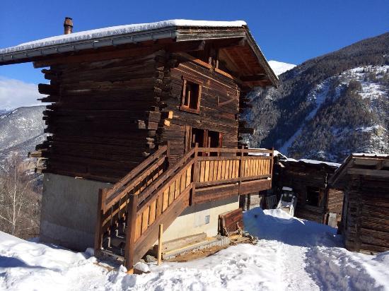 Saint Jean, Schweiz: Vue extérieure chambre le Raccard