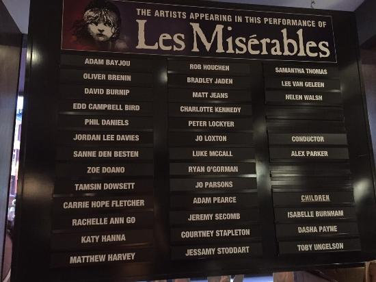 Les Miserables London : photo1.jpg