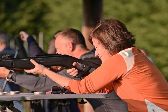 The K Club: Air Rifle Shooting