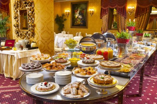 Parco dei Principi Grand Hotel & SPA: American Buffet Breakfast