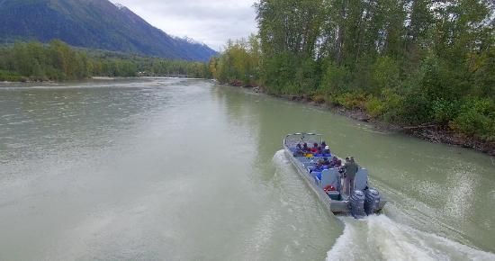 Haines, AK: Boat on return