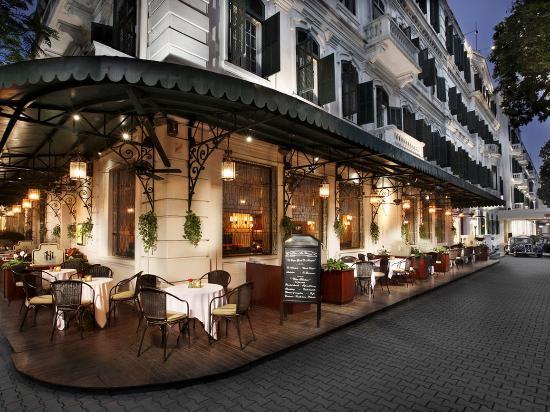 โรงแรมโซฟิเทล เลเจนด์ เมโทรโพล ฮานอย: La Terrasse