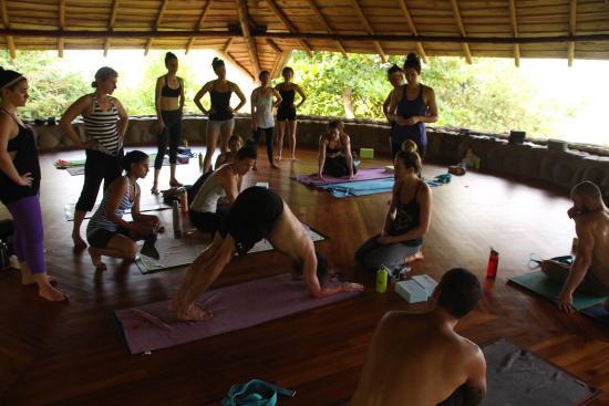 La Cusinga Eco Lodge: Yoga at La Cusinga Lodge