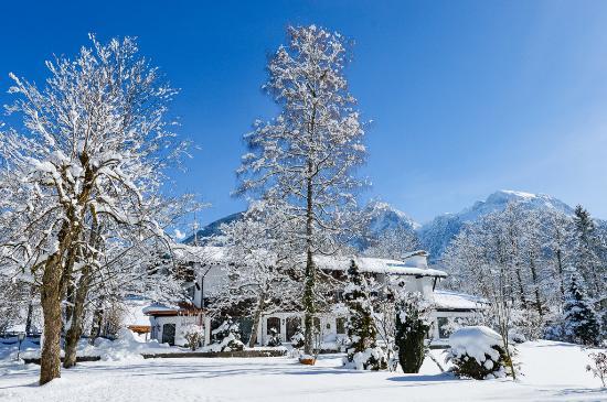 Stoll's Hotel Alpina: Snow Scene