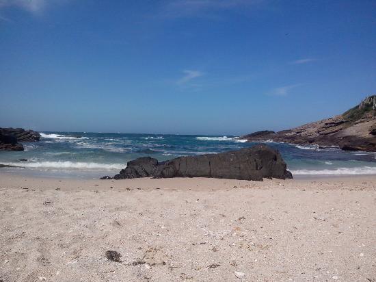 Buzios, RJ: Ponto central da praia