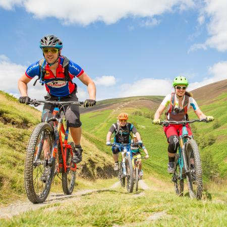 Braithwaite, UK: Guided ride & Hire bikes at Cyclewise