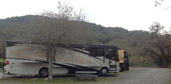 Skyline Wilderness Park: Surrounding area in campground