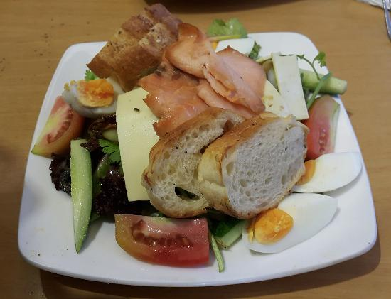 Mom's Bakery: Smoked Salmon Salad