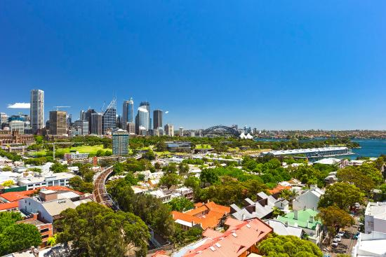 Holiday Inn Potts Point - Sydney : View from Hotel