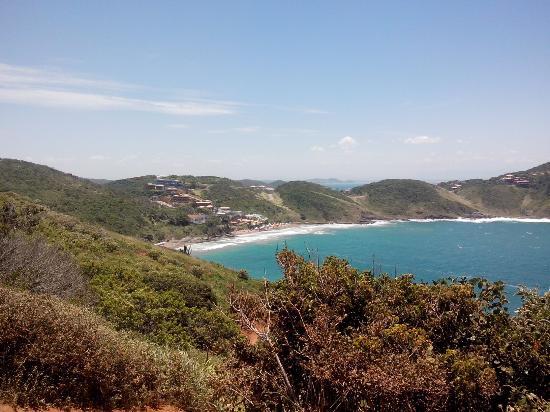 Buzios, RJ: Foto tirada da trilha da praia olho de boi