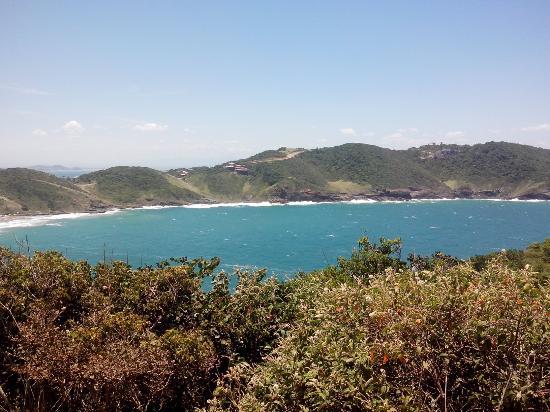 Buzios, RJ: Do alto da trilha da praia olho de boi
