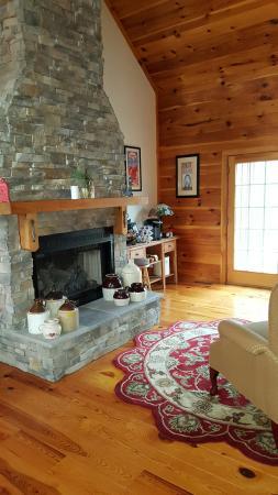 Fairfield, VA: Fireplace