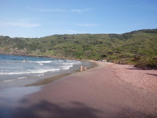 Búzios, RJ: Da faixa de areia da praia brava