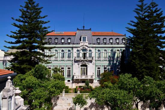 Pestana Palace Lisboa Hotel & National Monument: Front Facade of Pestana Palace Lisboa