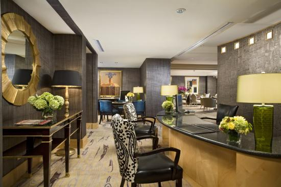 Hotel Mulia Senayan: Mulia Executive Lounge - Reception