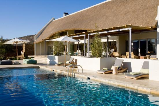 Sanbona Wildlife Reserve - Tilney Manor, Dwyka Tented Lodge, Gondwana Lodge: Gondwana Lodge Pool
