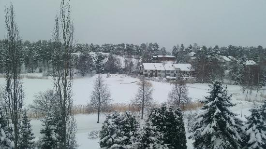 Naantali, Finland: View from my room!