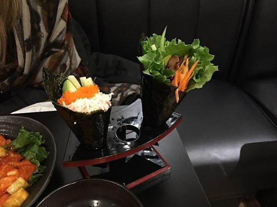 Urban Sushi & Grill: Cone maki