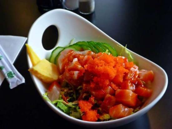 Urban Sushi & Grill: Sashimi Rice Bowl