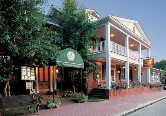 Green Mountain Inn: Exterior Summer